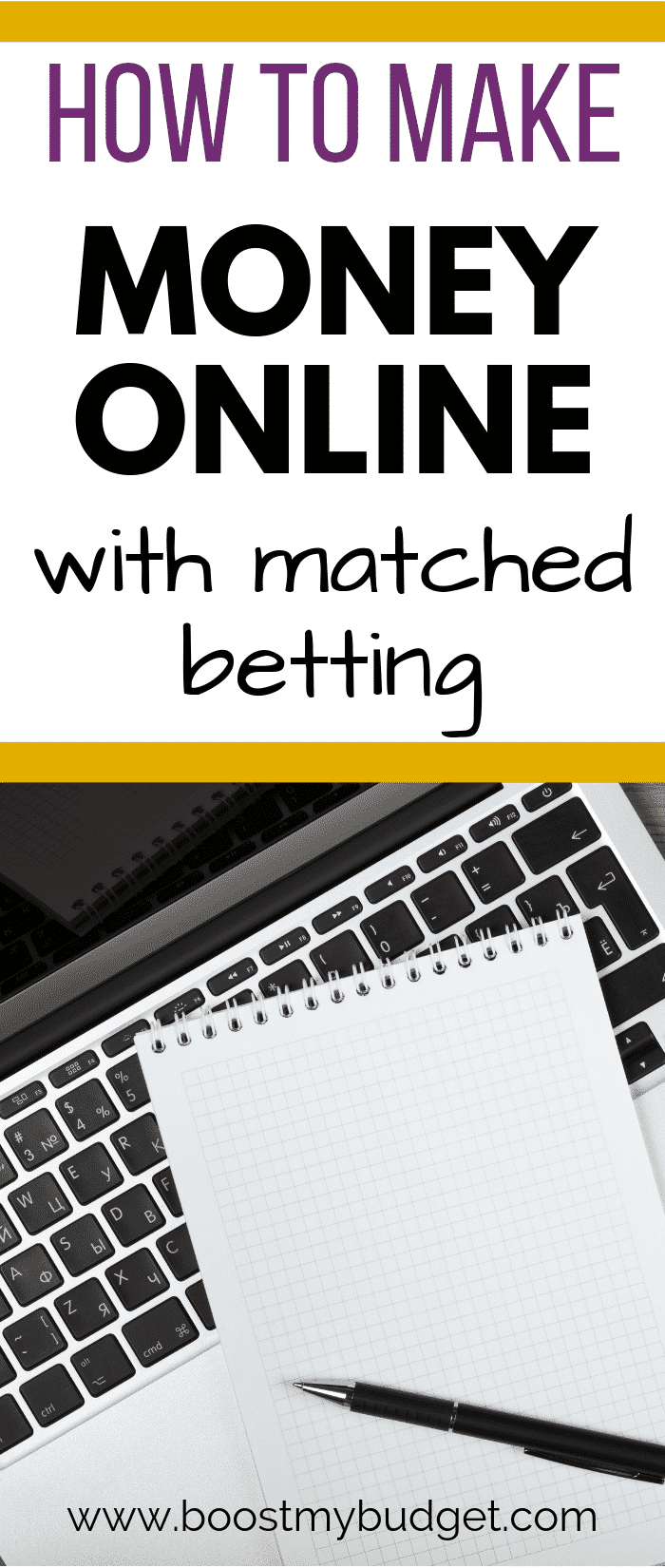 Wondering how to use matched betting to make money? This is a great way to make money online for a sports fan or anyone who can use the computer and wants to work from home! Read this case study to find out how much you can make!