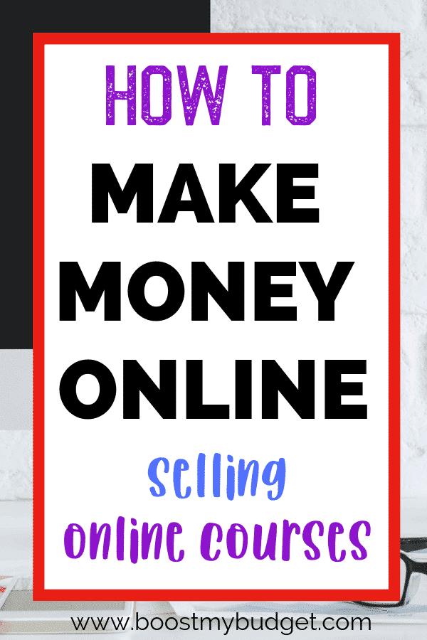 Looking for a side hustle idea? How about creating and selling online courses to create passive income? This is a great way to make money online for entrepreneurs and bloggers. Click through to find out the tools one woman uses!