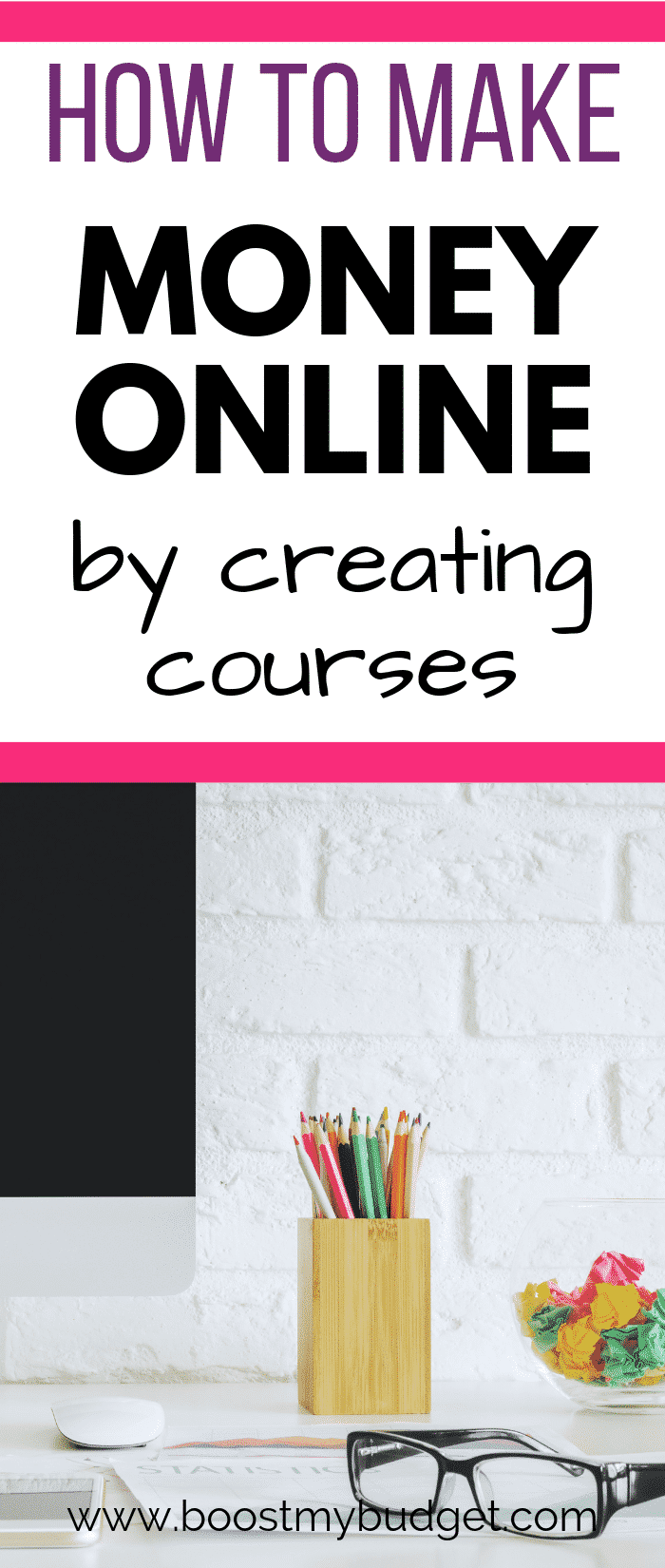 Looking for ways to make money from home? How about creating and selling courses online. It's a great way to make passive income and supplement your income.