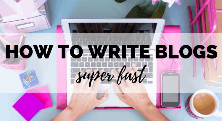 Blogging Hack_ How to Write Blog Posts Super Fast