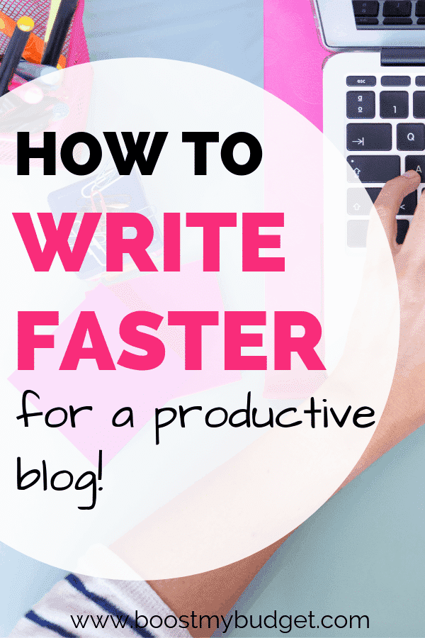 Tips and hacks from a professional blogger to help you write faster and work more effectively! I use these hacks for writing blog posts, but you can use them for school assignments, essays and any time you need to write fast.
