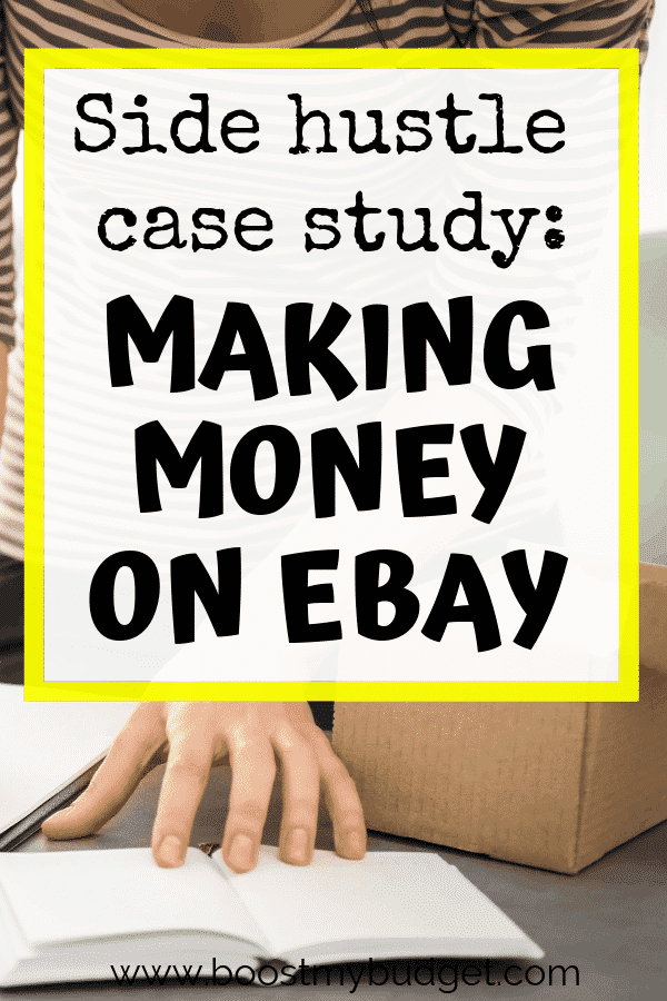 Looking for side hustle ideas in the UK? How about working as an eBay reseller? eBay reselling can be a great way to make extra money from home in your spare time. Click through and read this interview for tips!