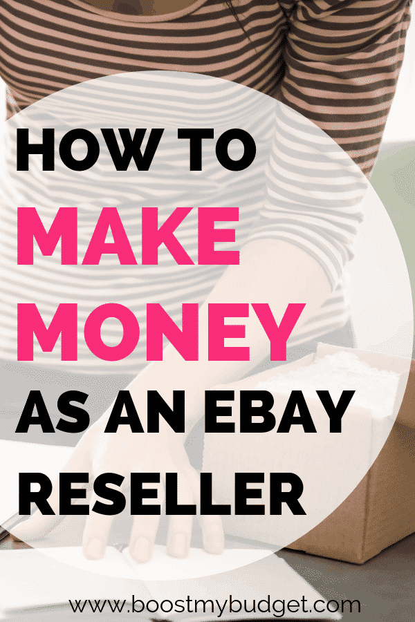 Have you thought about making money reselling on eBay? This is an easy side hustle idea that anyone can start! All you need is a bit of cash to buy items that you can resell for profit. Read this interview with an experienced eBay reseller to find out how it's done!