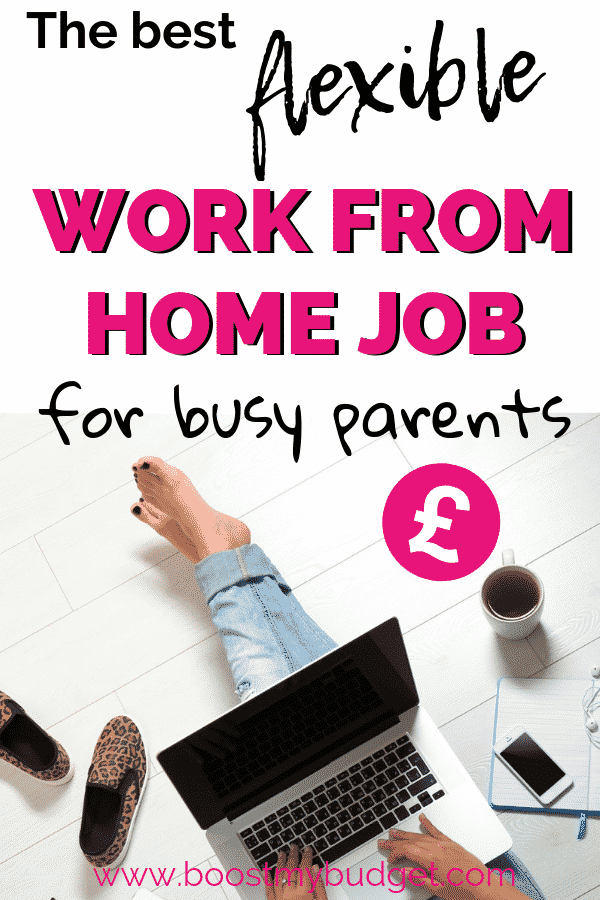 What's the best flexible work form home busy parents? Click through to find out!!