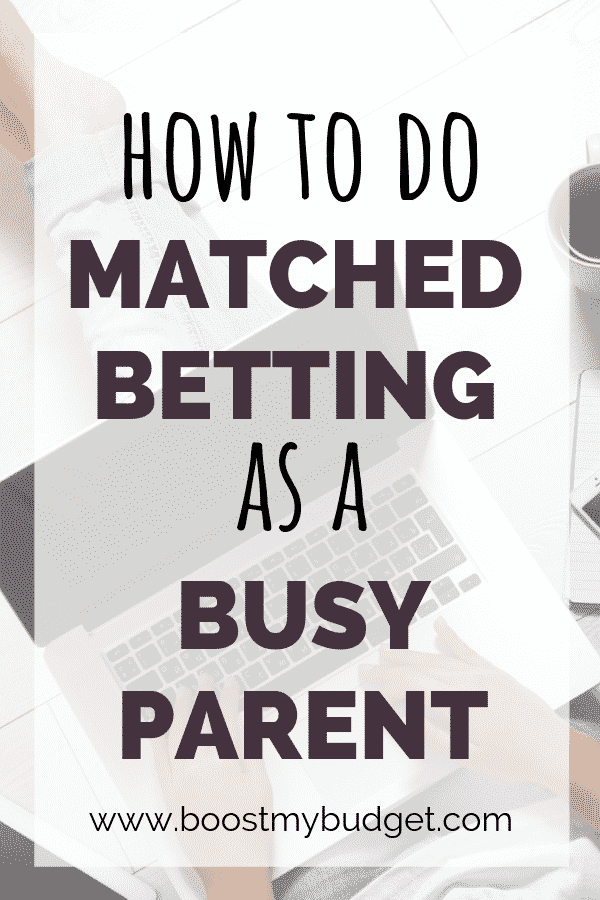 Matched betting is the best way to make extra money online in the UK. But how to fit it in your life as a busy parent? This post has lots of tips and hacks to make money online betting from home.