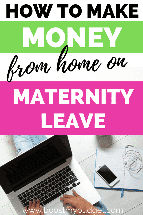 Wondering how to make money from home with a baby? It's totally possible! Let me teach you how to earn money with a newborn from your phone, in bed or anywhere!
