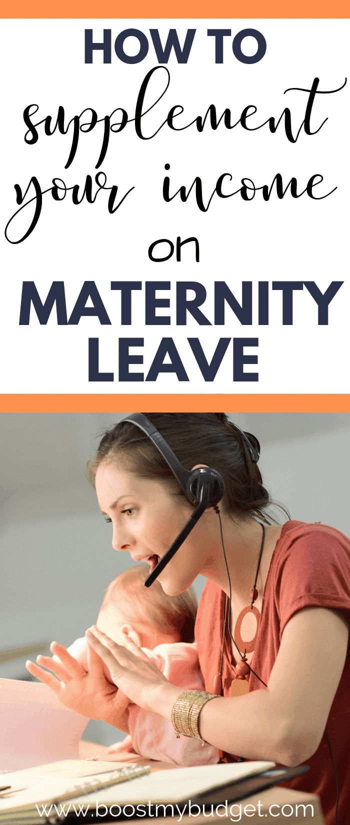 Supplementing income during maternity leave is easier than you think! Here are over 15 ideas from paid survey sites to online jobs to home business ideas! If you think you can't afford maternity leave, I urge you to check out this post!