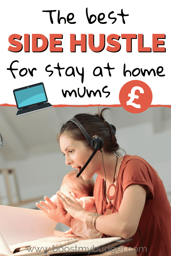 A real way to make money from home as a stay at home mum. Great flexible home job idea for mums in the UK. Earn up to £1000 a month!