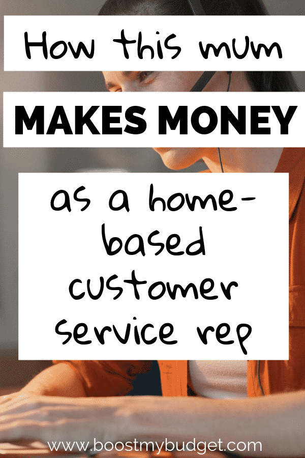 Wondering how to work from home doing a customer service job in the UK? This post reveals all, from a mum who did this job part time for 7 years!