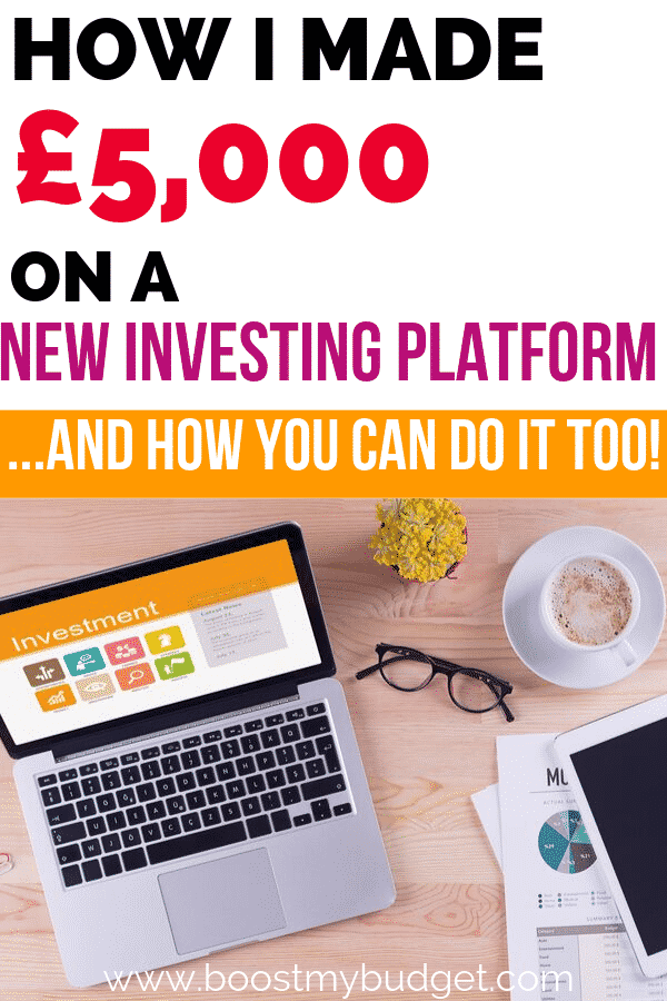 I made a nice sum of money on a new online investing platform. Here are the key lessons I learned so that you can make the most of your next big money making opportunity!
