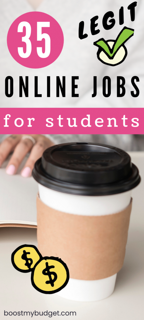 Legit online jobs for college students to make money from home - easy ways to work from home WORLDWIDE!