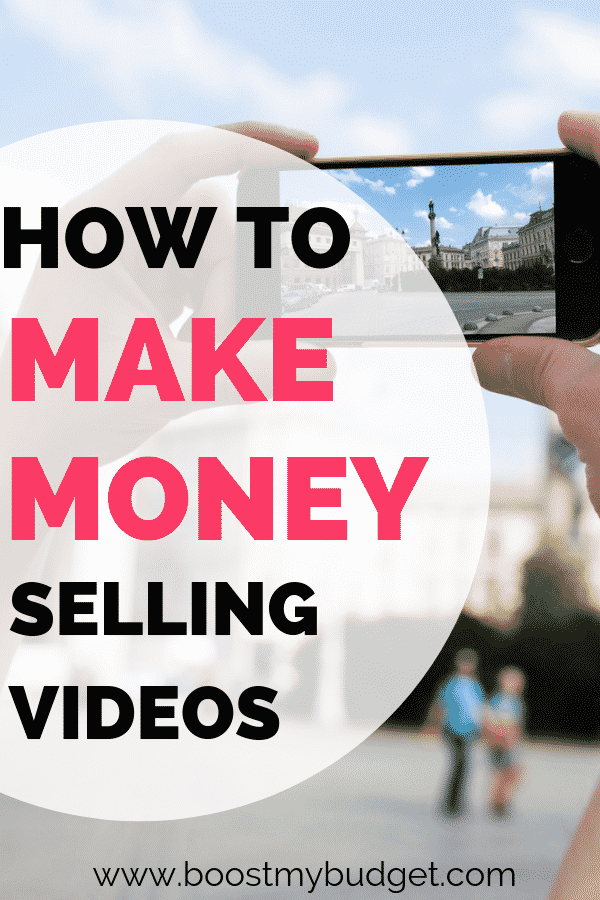 how to make money selling videos from your smartphone - an easy side hustle idea that anyone can try to make some extra money!