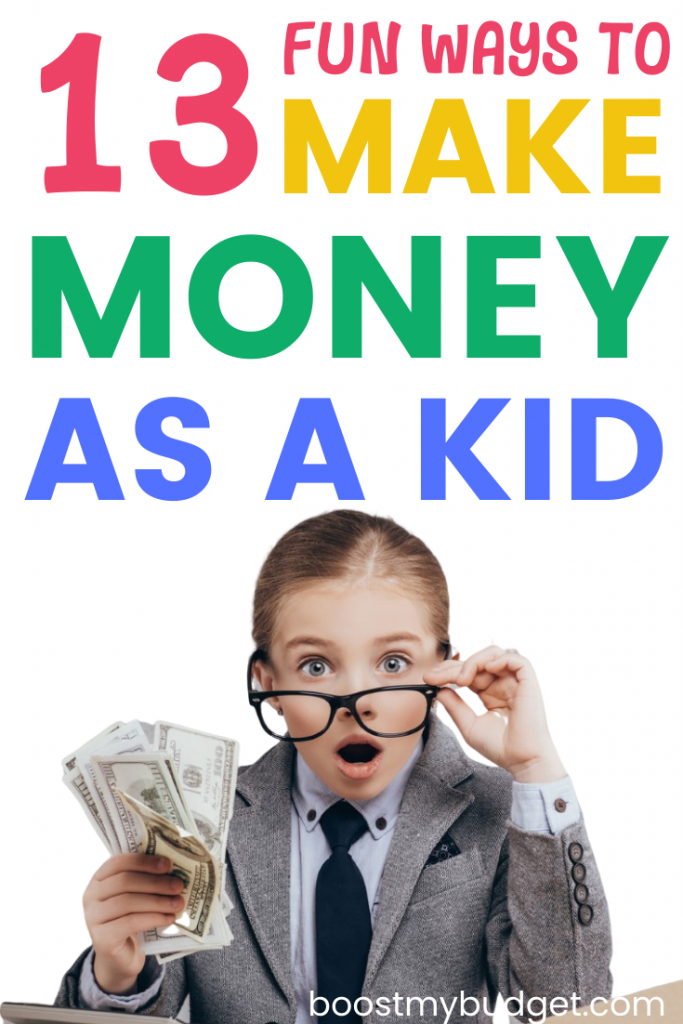 13 fun and easy ways to make money for kids! Some classic job ideas for kids, and some you might not have heard of. Make £2000+ a month with number 9!!