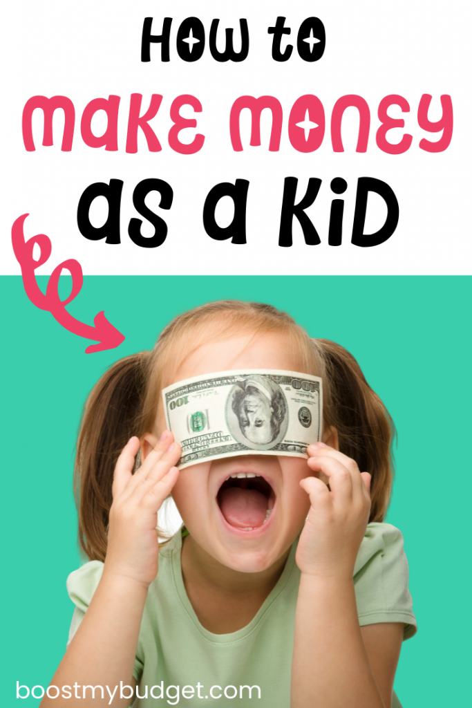 How to make money for kids: click through to read 13 dun and simple ideas that you can use to make extra money for kids, no matter what your age!