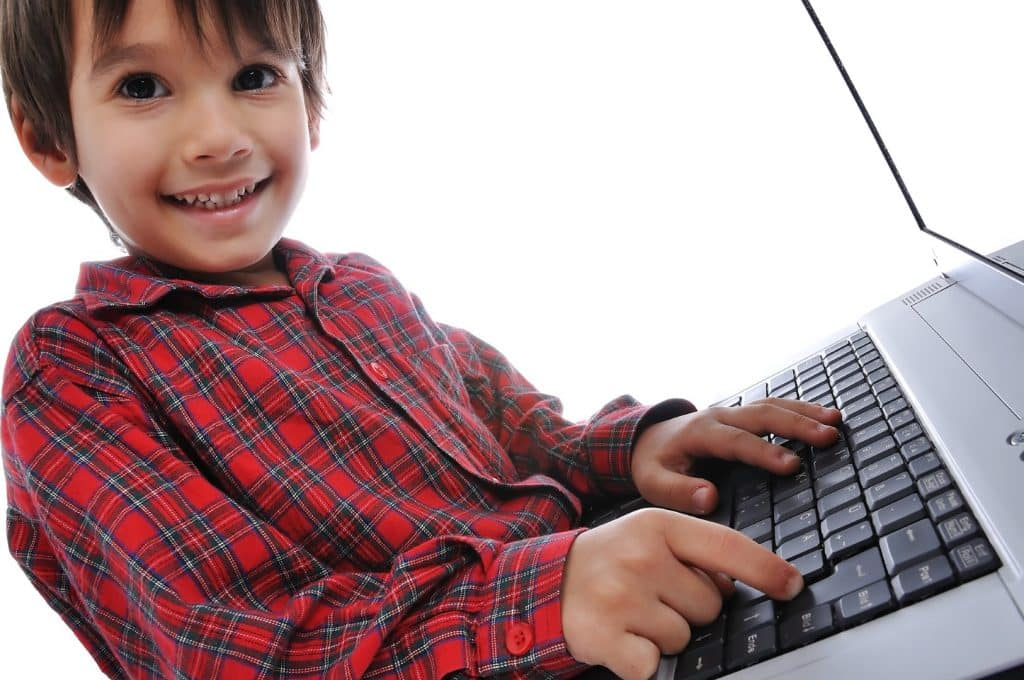 a kid blogger