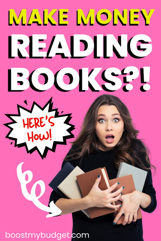 Bookworms unite! Yes, you can make money by reading books :) click through for this list of part time jobs and sites that pay you to read books from home by writing book reviews, audiobook narration, proofreading and more.