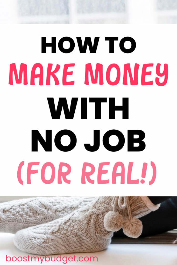 No job, no boss, no worries! Make a full time living from home with no job!