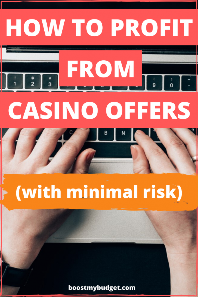 How to make money online betting on casino offers - with low risk! This new website promises you can make over £3000 low risk with their guide to profiting from online casinos. But are they legit? I tested it out so you don't have to...