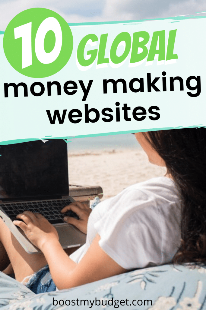 wondering how to make money online internationally? Here are 9 legit global money making websites so you can earn money online, even if you're not in the US!