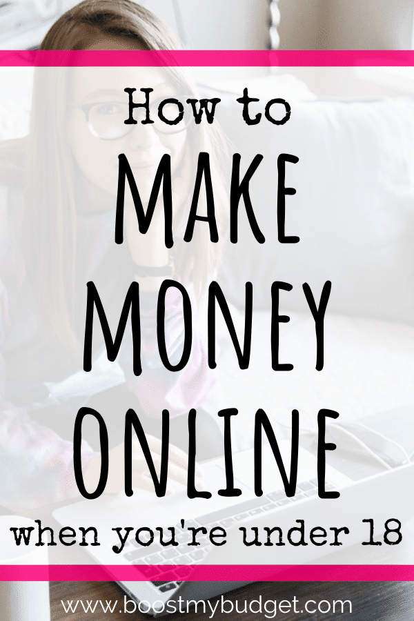 How to make money online as a teenager - 10+ online jobs for teens that pay!