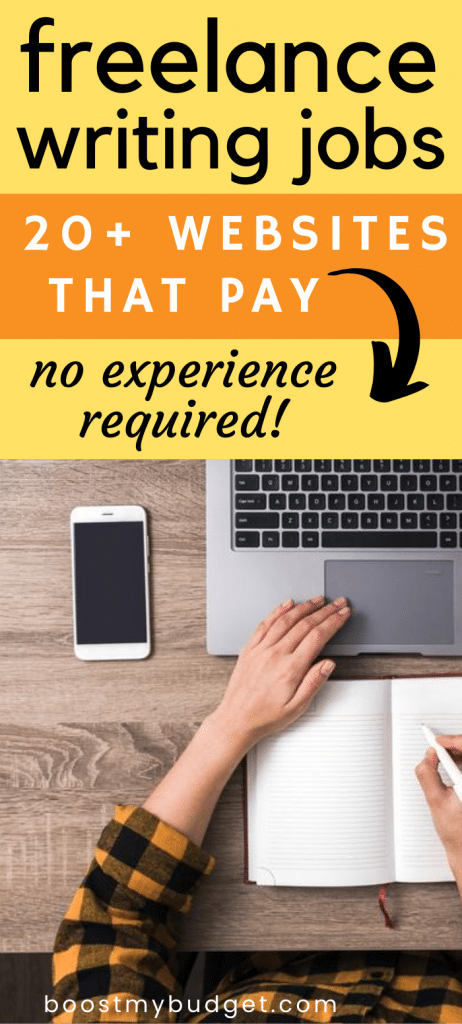 Freelance writing is a great way for beginners to work at home. Here are 20+ websites hiring writers, no experience required!